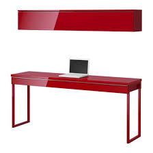Red Office Furniture by Red Computer Desks For Home 12 Excellent Red Computer Desk