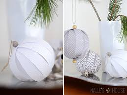 nalle s house diy paper ornaments