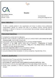 resume format doc for fresher accountant sle resume for freshers accounting templates