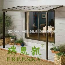 Cutsomized Metal Patio Cover Shade Waterproof Patio Furniture