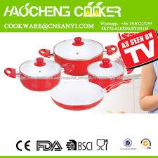 batterie cuisine ceramique grossiste blanc en céramique batterie de cuisine acheter les