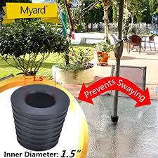 Patio Umbrella Wedge Myard Umbrella Cone Wedge Fits Patio Table