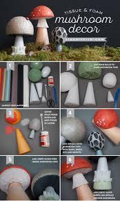 diy fairy tale mushrooms fairy mushrooms and craft