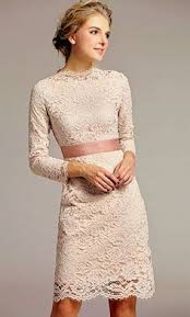 chic ivory boat neck lace little white knee length bridesmaid