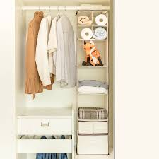 closet hanging shelf maidmax 7 shelf collapsible nonwoven baby