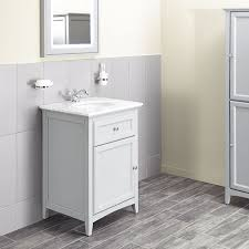 Marble Top Bathroom Cabinet Savoy Gun Metal Grey 600 Basin Unit With Marble Top And Basin
