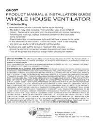 House Specification Sheet Hv3400