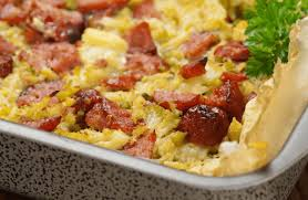 sausage egg casserole low carb recipe sparkrecipes