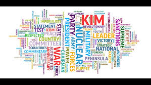 juche pattern video wbir com ap word cloud the message in pyongyang s propaganda