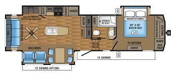 eagle fifth wheel floor plans 2017 eagle fifth wheel floorplans prices jayco inc