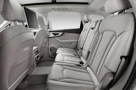 audi q7 6 seat configuration 2017 audi q7 reviews and rating motor trend