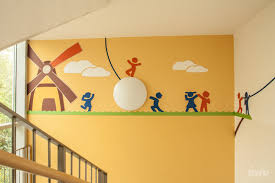 wandgestaltung kindergarten kreative wandgestaltung lwd lässig werbung dresden