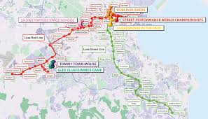Red Line Map Luas Luas Fun Summer Activity Guide Theatre