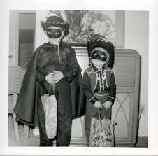 kids vintage halloween costumes the lone ranger and rangerette