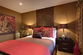 Red And Brown Bedroom Decor Color Statement In Your Bedroom Decor Home Interior Design 7986