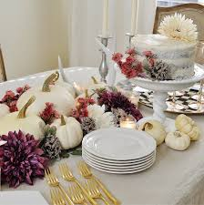 a uniquely beautiful thanksgiving table 2 a chair