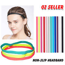 sports hair bands unbranded elastic headband hair accessories for women ebay