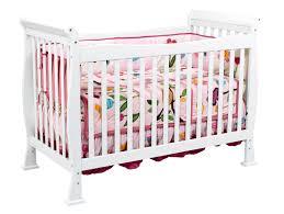 Convertible Crib Vs Standard Crib Davinci 4 In 1 Convertible Crib In White W Toddler