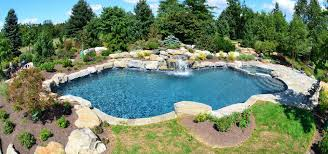 Mountain Lake Pool Design by 1 Pool Builder In Lehigh Valley Pa Best Inground Pools