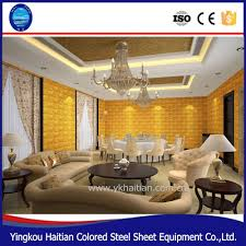 decor 3d pvc ceiling tiles embossed background home decoration