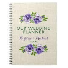 Our Wedding Planner Wedding Planner Notebooks U0026 Journals Zazzle Com Au