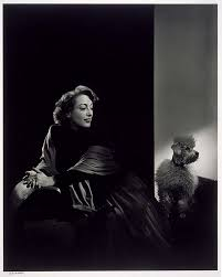 joan crawford with poodle mfa for educators