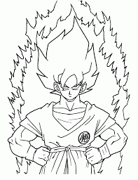 printable dragon ball z coloring pages fablesfromthefriends com