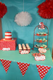 the cat in the hat birthday party ideas hat party dessert table