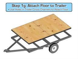 Teardrop Camper Floor Plans How To Build A Teardrop Trailer Video Guide 29 Digital
