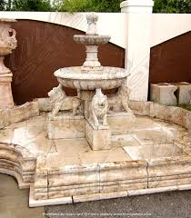 marble lions marble fountains garden fountains lawn fountains artistic