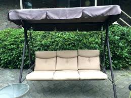 garden swing with canopy outdoor bench swing with canopy patio