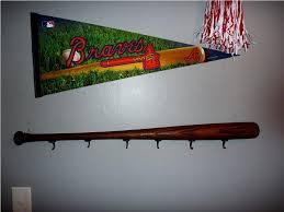 Baseball Bat Wall Mount Creative Hat Hooks Best House Design Best Creative Hat Rack Ideas