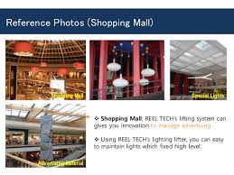 Chandelier Lift System Reel Tech Chandelier Lift U0026 Various Remote Lighting Lifts