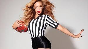 Beyonce on Super Bowl Halftime