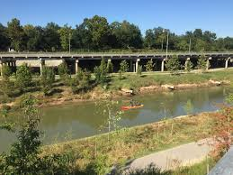 Buffalo Bayou Park Map Memorial Park Kayak Tour On Buffalo Bayou Get Out Here Houston