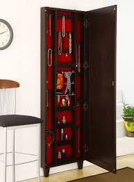 Wooden Jewelry Armoire Mesmerizing Jewelry Armoire Mirror For Home Furniture Ideas