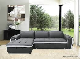 grey l shaped sofa bed multi functional genuine leather sofa l shaped leather sofa bed y