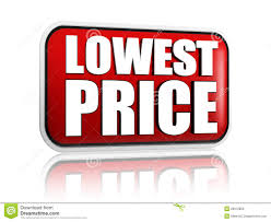 lowest price lowest price in stock illustration image of deal