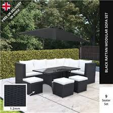 Outdoor Rattan Corner Sofa Billyoh Modica 9 Seater Outdoor Rattan Corner Sofa Set