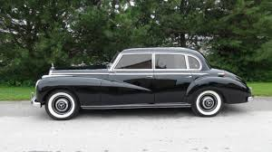 mercedes adenauer mercedes 300 series sedan 1954 black for sale 1860110027153