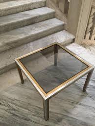 smoked glass coffee tables uk coffee table vintage italian brass smoked glass coffee table by