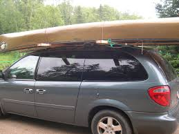 Honda Odyssey 2014 Roof Rack by Bwca Carrying Canoe On Minivan Rack Boundary Waters Gear Forum