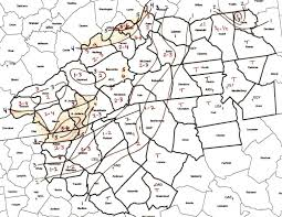 Zip Code Map Charlotte Nc by The December 19th 2000 Winter Storm