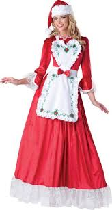 mrs santa claus costume mrs santa claus costume