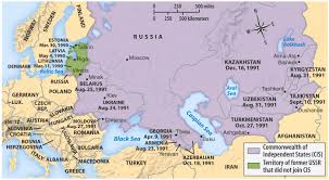 Cold War Europe Map by More Information