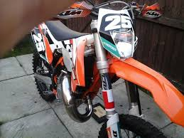ktm 125 exc road legal on 64 plate 2015 in warrington cheshire