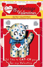 retro valentines 15 vintage valentines retro valentines packets of s