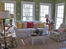 Best Lovely Living Spaces Images On Pinterest Living Room - Cottage style family room