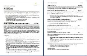 exles of one page resumes sle it resume 2 best one page resumes essential print