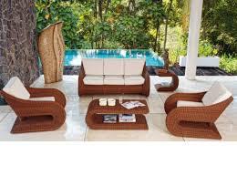 Modern Wicker Patio Furniture 45 Outdoor Rattan Furniture U2013 Modern Garden Furniture Set And